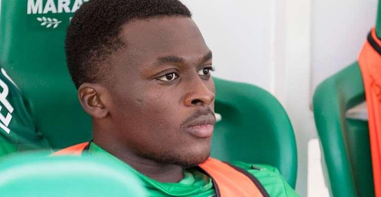 Ghana forward Thomas Agyepong. Photo Credit/getty images