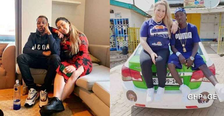 It Ended In Tears; Patapaa's German Girlfriend Reportedly Dumps Him For A Nigerian Guy
