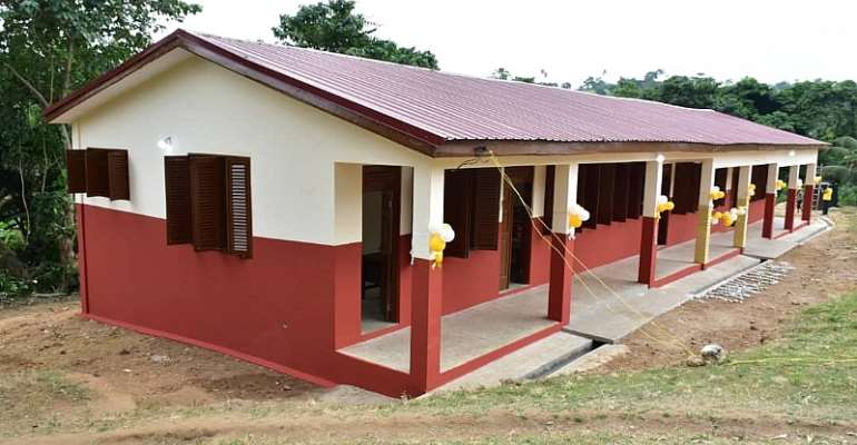 MTN Ghana Foundation's Classroom Block New Mangoase To Benefit Over 420 Children