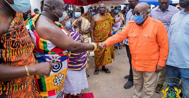 """Redevelopment of Aburi Gardens in the offing"" – Akufo-Addo"