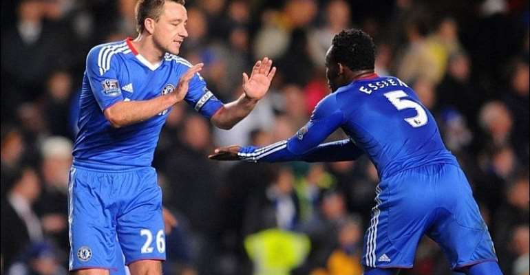 'You Are One Of The Best Players I Have Ever Played With' - Essien Hails John Terry