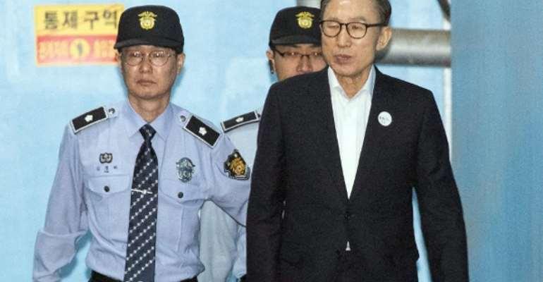 Former President of South Korea, Lee Myung Bak