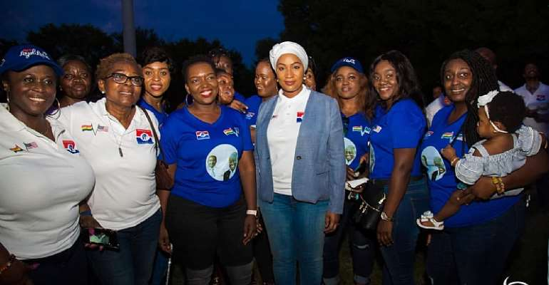 Samira Joins NPP Loyal Ladies, NPP Washington DC Chapter For End-Of-Summer Cookout