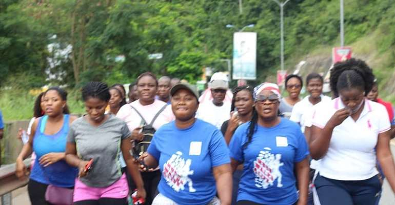 Hundreds Join MUCG In Maiden ''Walk For Life'' Fitness Event