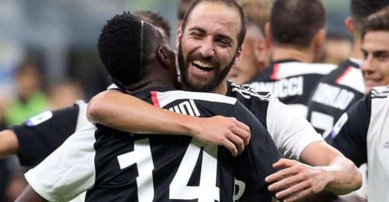 Serie A: Juventus Go Top As Higuain Seals Victory At Inter
