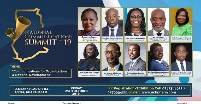 Dr. Joyce Aryee leads Communications Experts To Maiden National Communications Summit 2019