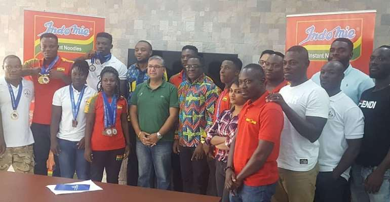 Ghana Weightlifting Federation Hailed For Medal Haul At 2019 African Games