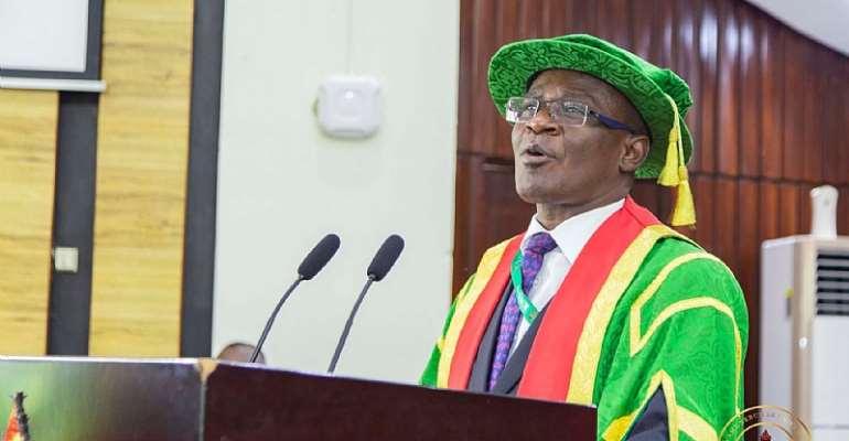 Professor Kwasi Obiri-Danso, Vice-Chancellor, KNUST