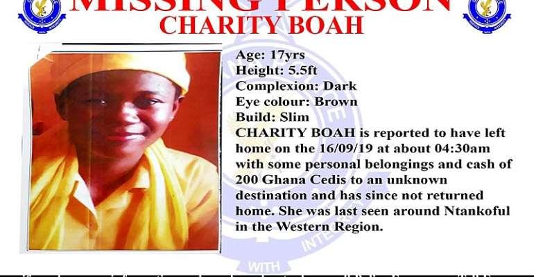 Takoradi: Family Of Missing Girl Want Help