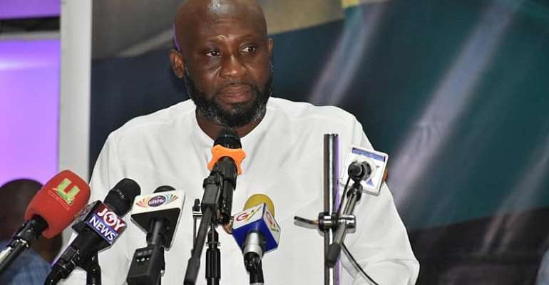 GFA Elections: George Afriyie Pledges To Give Ghanaman Soccer Of Excellence Massive Facelift