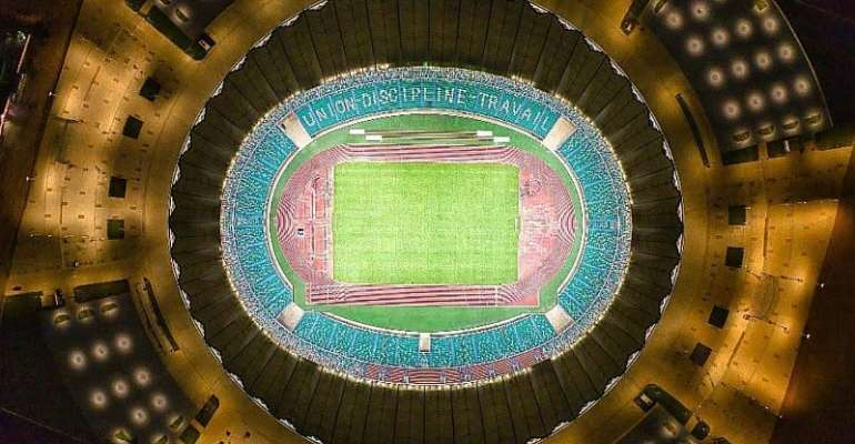 Ivory Coast Finally Opens Incredible 60,000-Seater Stadium For 2023 AFCON [Photos]