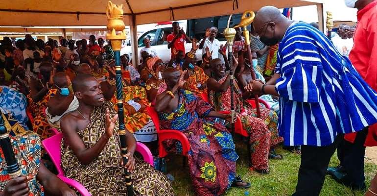 The Chief of Wassa Atobiase, Nana Opia II