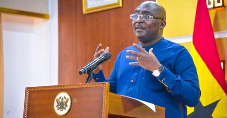 Bawumia Lists Government's 1st-Term Major Achievements