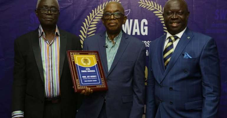 SWAG Honors Legendary Joe Aggrey And Others