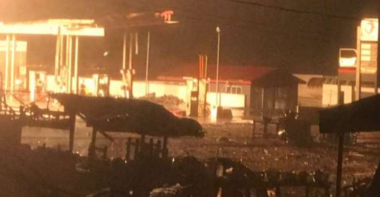 One Person Confirmed Dead, Others InjuredIn Atomic Junction Gas Explosion