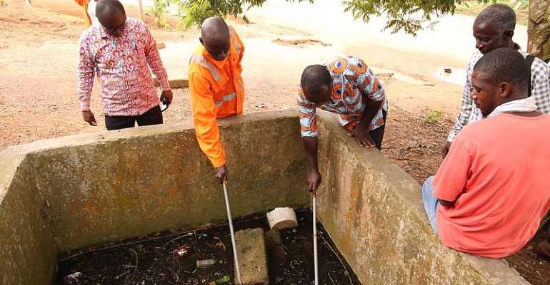 Zoomlion Hosts Malaria Control Manager At Mapped Mosquito Breeding Sites
