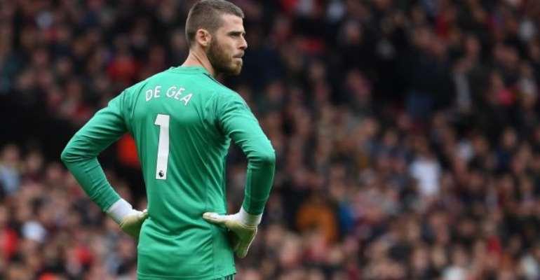 David de Gea: Man Utd Performances Are Unacceptable