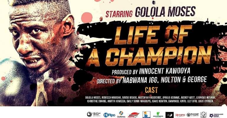 Starring Golola Moses, Life of a Champion movie premieres this November