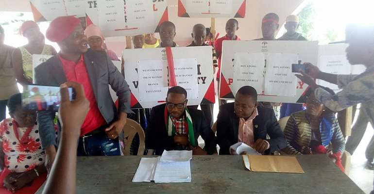 V/R: NDC members threaten defection over expulsion from HO Central Electoral register