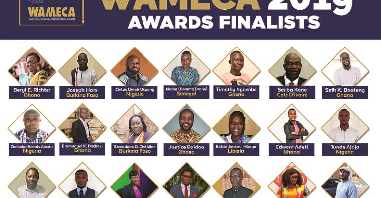 West Africa Media Excellence Awards 2019: List of Finalists