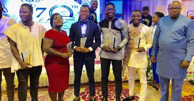 Some of the award winners