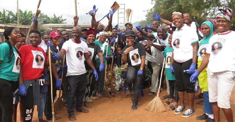 NDC Abokobi Ward Holds Clean-up Exercise