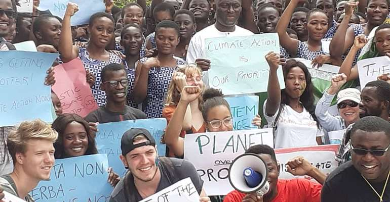 Global Climate Strike And Growing Momentum Of Climate Activism In Ghana.