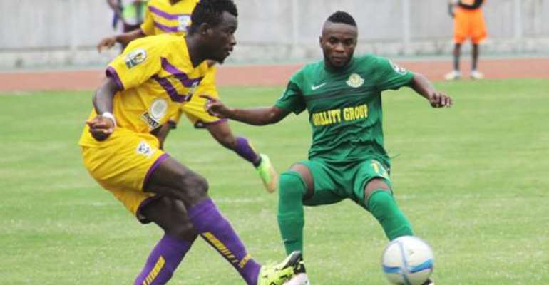 Eric Kwakwa Re-Joins Medeama On A Two-Year Deal
