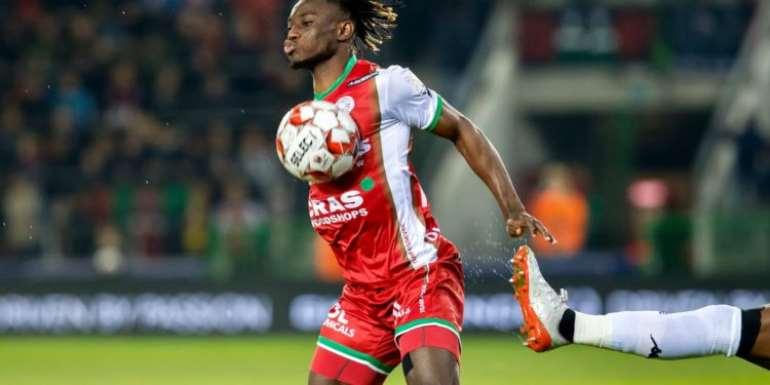 Ghanaian Youngster Gideon Mensah Hails 'Fantastic' Waregem Win Over Cercle Brugge