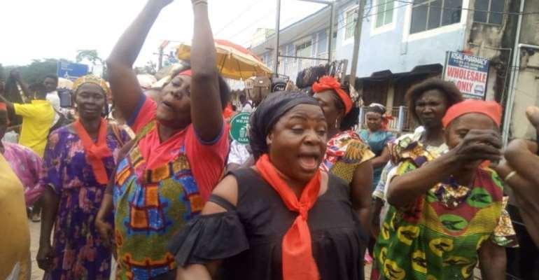 Ksi: Kejetia Petty Traders Threaten Naked Demo, Curse KMA