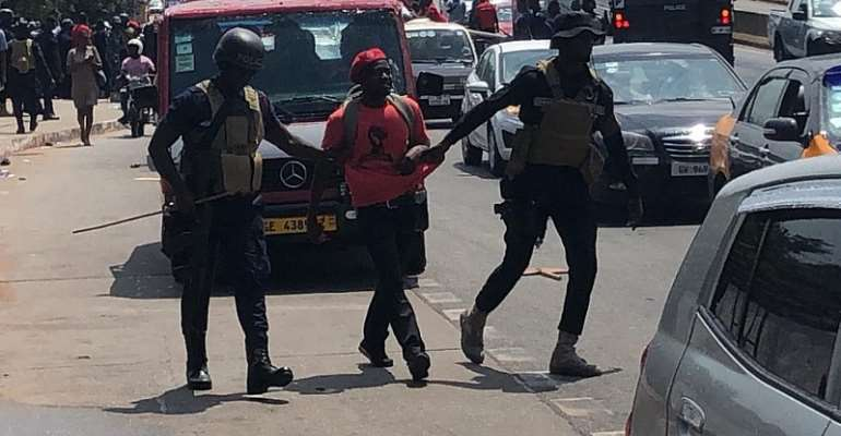 AFAG Condemns DEMO Beating