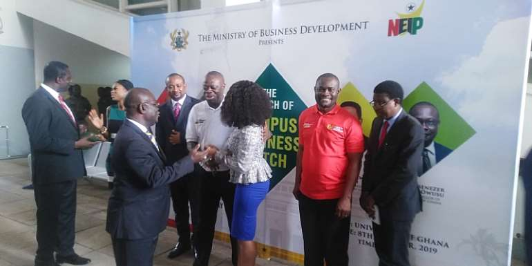 Campus Business Pitch Launched