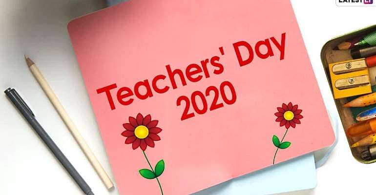 World Teachers' Day; Education And Sustainable Development
