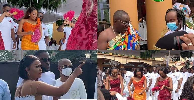 #Ciri2020: Dr. Ofori Sarpong's daughter ties the knot in beautiful ceremony