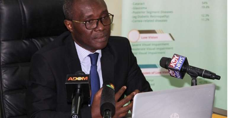 Head of Eye Care Unit of GHS, Dr James Addy