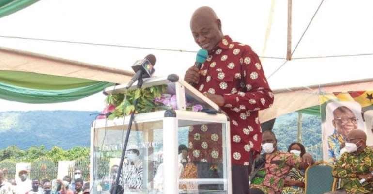 Creation of Oti, Guan is fulfilment of the people's desire — Dan Botwe
