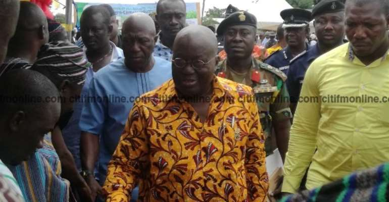 Nana Addo Says He Won't Be An Armchair President