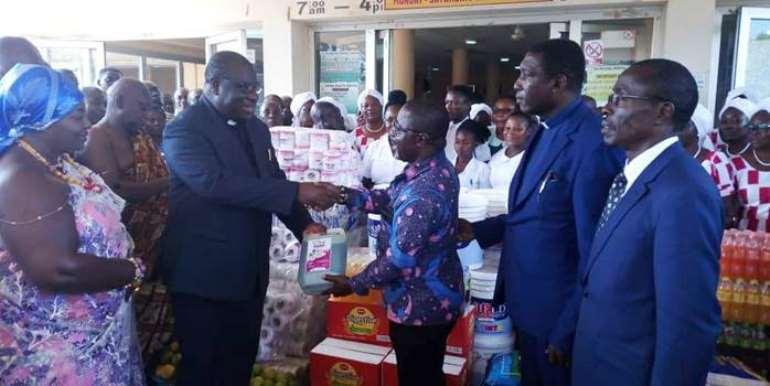 Presbyterian Church Donates To Sunyani Regional Hospital