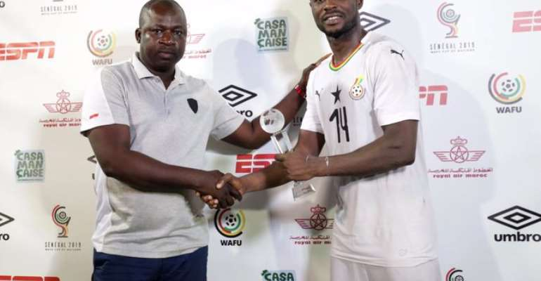 2019 WAFU Cup: Shafiu Mumuni Named MoTM Award After Ghana's Huge Win Over Ivory Coast