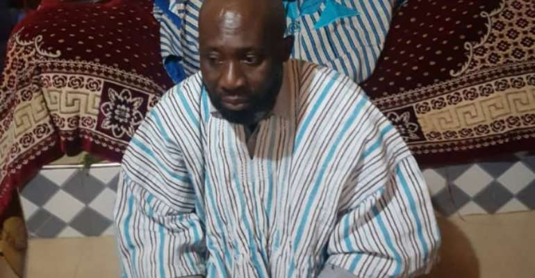 GFA Elections: George Afriyie To Wear Dagbon Overlord Yaa-Naa's Smock On Election Day [PHOTO]