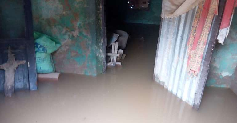 Residents Displaced At Tamale, Sagnerigu After Downpour