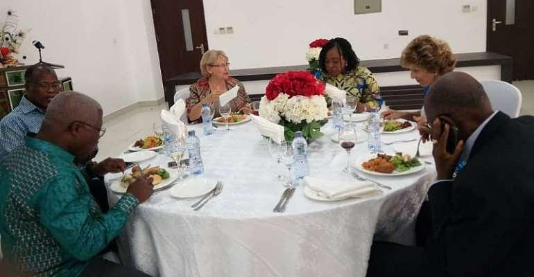 Shirley Ayorkor Bids Canadian Envoy Farewell