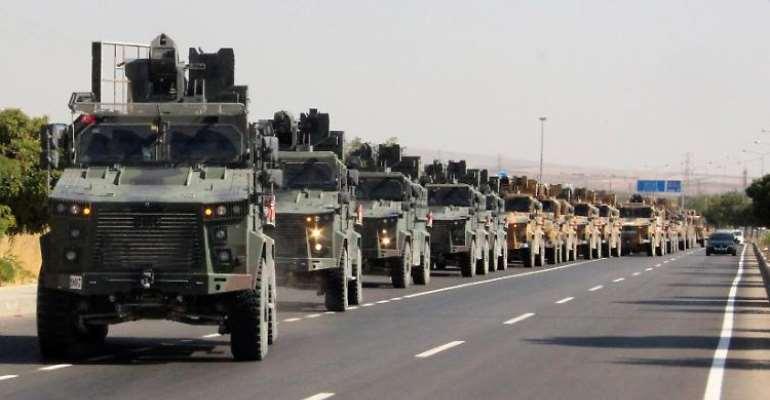 Turkey starts offensive against Kurds