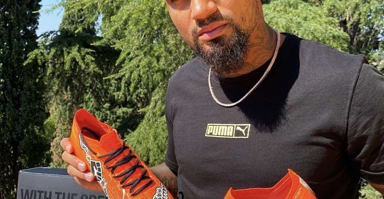 Kevin Prince-Boateng Teams Up With PUMA To Fight Racism