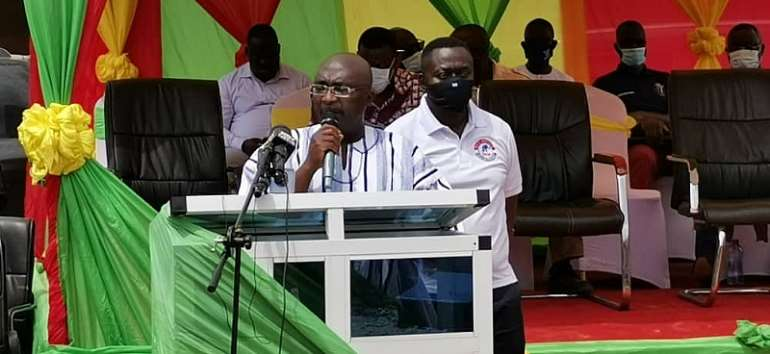 You Have Nothing To Show For Supporting NDC – Bawumia To Amenfi Residents