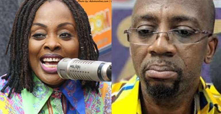 Akosua Adjepong and Rex Omar