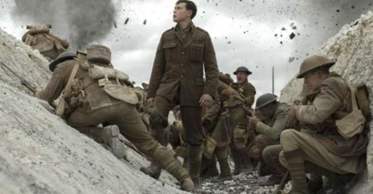 George MacKay plays Lance Corporal Schofield in 1917 (Image copyright: Entertainment One)