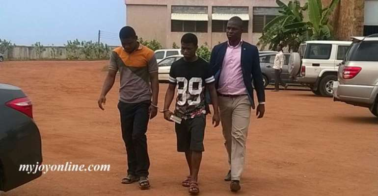 JB Danquah Killer Nearly Stabbed An Officer