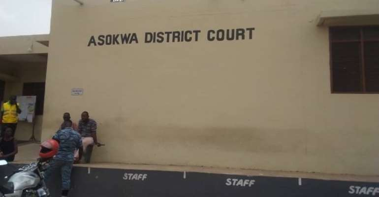 The case is being heard at the Asokwa District Court