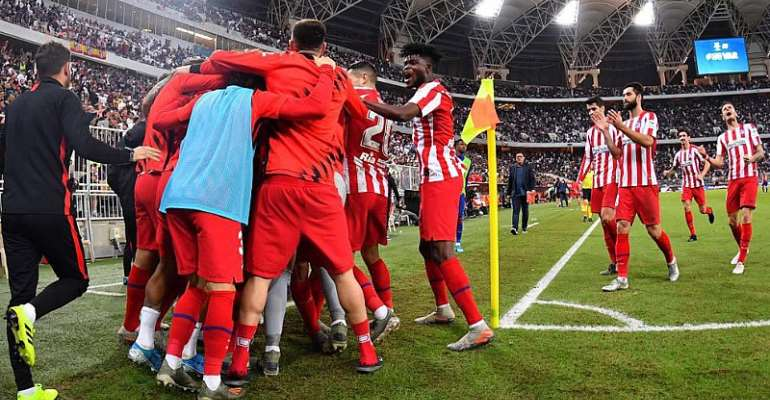 Thomas Partey Impress For Atletico Madrid In 3-2 Win Against Barcelona